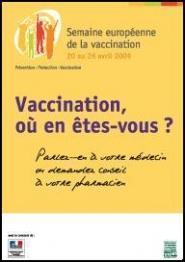 affiche semaine de la vaccination