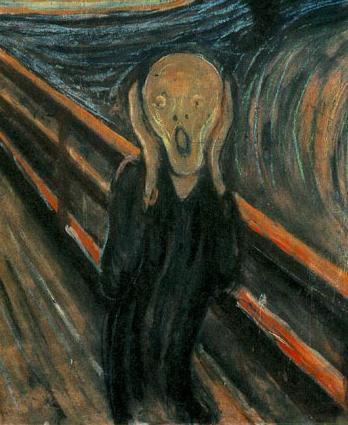 Le cri par Edvard Munch
