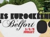 Eurockéennes 2009 quoi organiser sortie Belfort