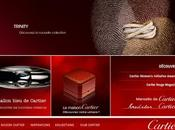E-commerce luxe visite site Cartie