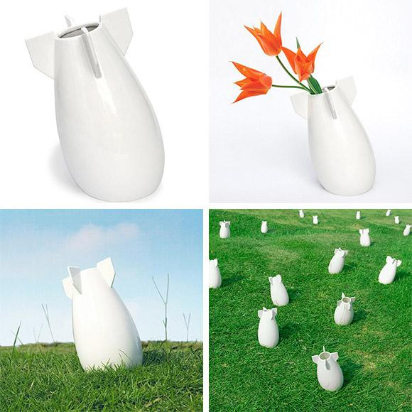 A Peaceful Bomb Vase