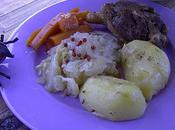 Cuisses canard chou, carottes, pommes terre