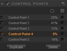 Gestion des points de contrôles pour la retouche locale avec Silver Efex Pro