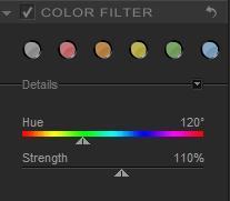 Filtrage de couleurs avec Silver Efex Pro