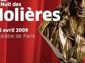 palmarès Molières 2009