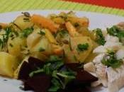 Salade pommes terre roses