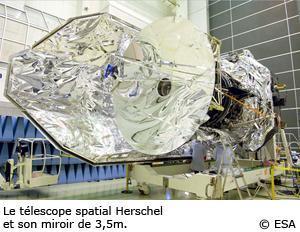 Télescope Herschel, plongée dans les coulisses de la mission spatiale