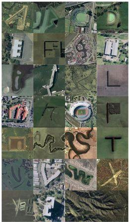 L'alphabet Google Map