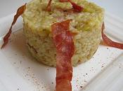 Risotto jambon Bayonne courgettes