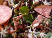 saucisse Morteau, lentilles wasabi pandémie vaincue
