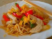 Nouilles frites japonaise (Yakisoba)