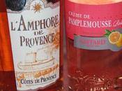 Cocktail rosé pamplemousse