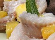 Filet dorade brochette sucrée salée