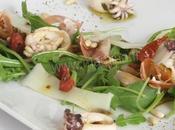 Salade fraîche terre-mer accents tres italiens