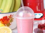 Smoothie pink banana