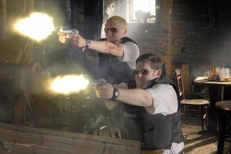 Nick Frost, à gauche, & Simon Pegg