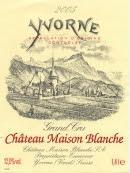 Château Maison Blanche Yvorne AOC