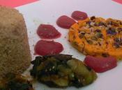 Assiette Végétarienne colorée