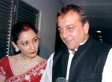 Sanjay and Manyata Dutt