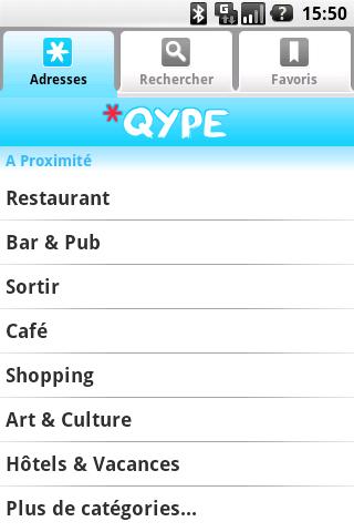 Qype Radar Seconde Version