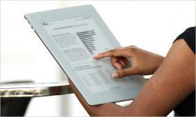 Rencontres autour du papier électronique