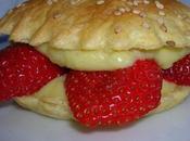 Tartellette légère fraises crème citronnelle