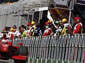 Felipe Massa Kimi Raikkonen soutiennent Ferrari
