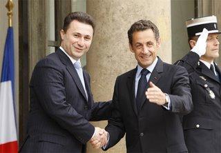 La France soutien l'adhésion de la Macédoine à l'UE : Tintin redessine les balkans ?