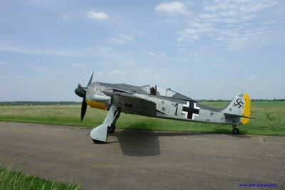 Focke Wulf FW 190 A8/N au point d'attente