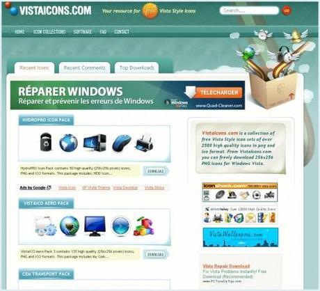 vistaicons 500x455 2500 icones Vista à télécharger gratuitement