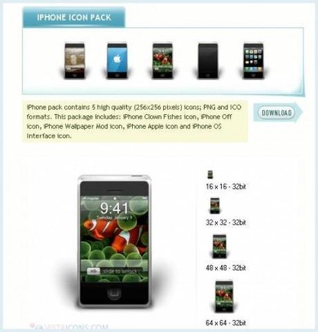 icones iphone 479x500 2500 icones Vista à télécharger gratuitement