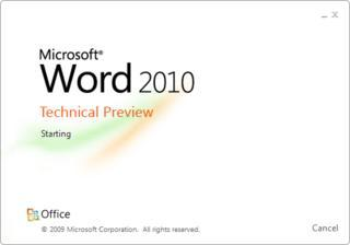 Microsoft Office 14 - Office 2010 - Word 2010