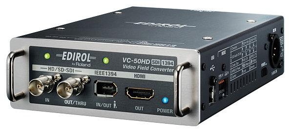 Edirol VC-50 HD video field converter