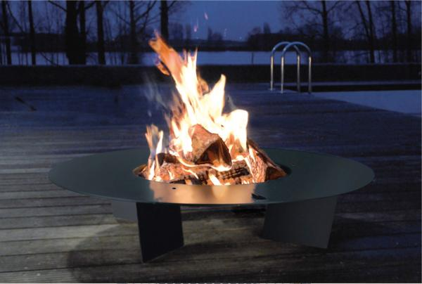 radius-fireplate- plaque de feu design