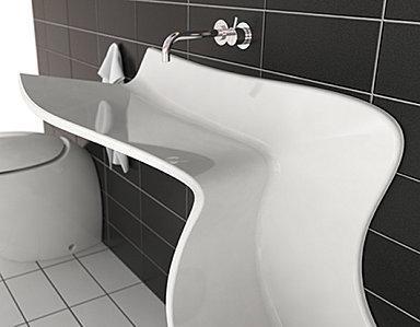 Un torrent de design dans votre salle de bain - Paperblog