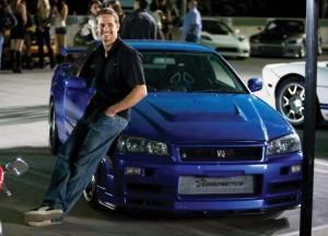 Paul Walker Nissan GT-R Fast and Furious