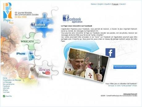 pope2you 500x378 Pope2you, le Vatican lance son site Web 2.0