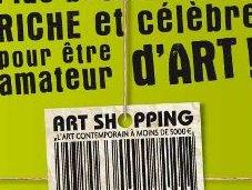 shopping, l'art contemporain moins 5000