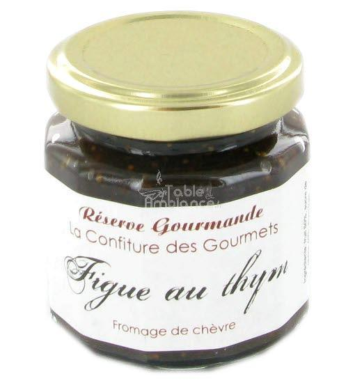 Confiture Figue au thym