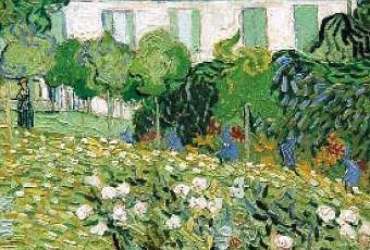 Vincent van gogh le jardin de daubigny d couvrir for Jardin a auvers van gogh