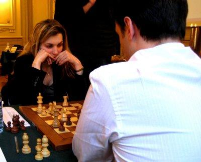 Almira Skripchenko alias ChessBaby toujours au Top © Chess & Strategy