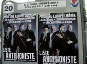 L'affiche Dieudonné pour Européennes fait froid dans
