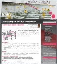 16 astuces fideliser visiteurs 198x220 BlOg'X Office #8 : petit medley du Web