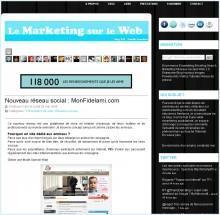 monfidelami 220x215 BlOg'X Office #8 : petit medley du Web