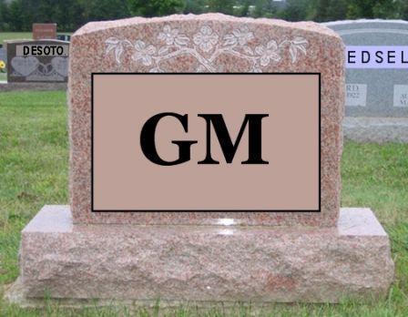 La faillite de GM: c'est l'apologie du système de retraite par répartition