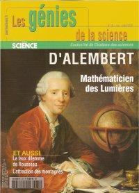 D'Alembert, Mathématicien des Lumières