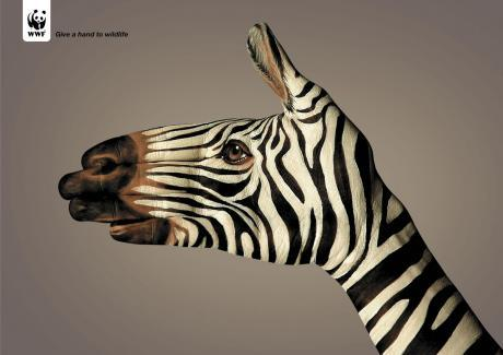 WWF - Give a hand to wildlife