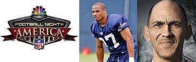 Dungy et Harrison à Football Night in America