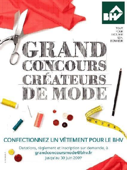 Concours de créateurs de mode du BHV