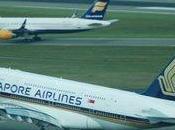 Départ l'A380 Singapore Airlines Roissy